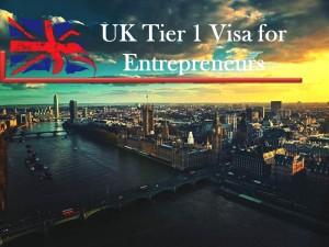 UK Tier 1 Visa for Entrepreneurs