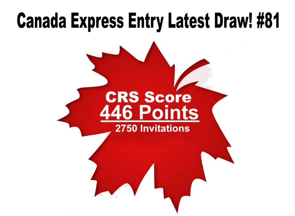 Canada Express Entry Draw of 10th Jan 2018